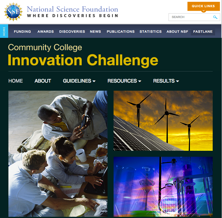 NSF Commuity College Innovation Challenge